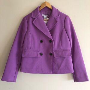 Liz Claiborne NWT Purple Lavender Blaze MP